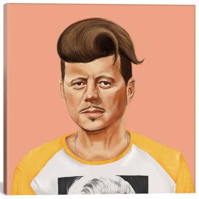 Icanvas John Kennedy Canvas Art