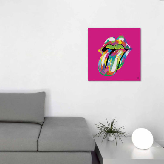 Icanvas Rolling Mouth Swag Canvas Art