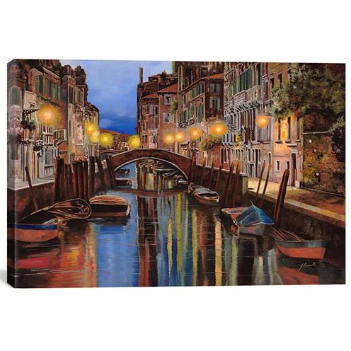 Icanvas Alba A Venezia Canvas Art