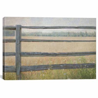 Icanvas Edge Of The Field Canvas Art