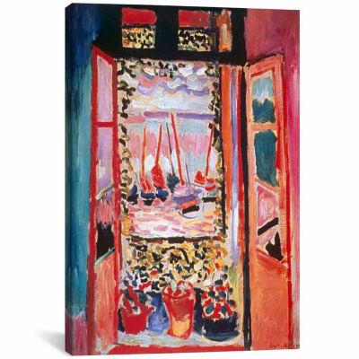 Icanvas Open Window At Collioure (1905) Canvas Art