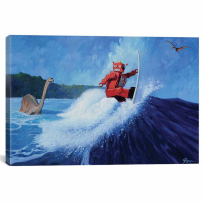 Icanvas Surfer Joe Canvas Art
