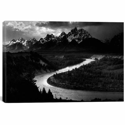 Icanvas The Tetons - Snake River Canvas Art