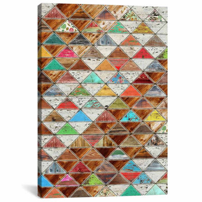 Icanvas Love Pattern Canvas Art