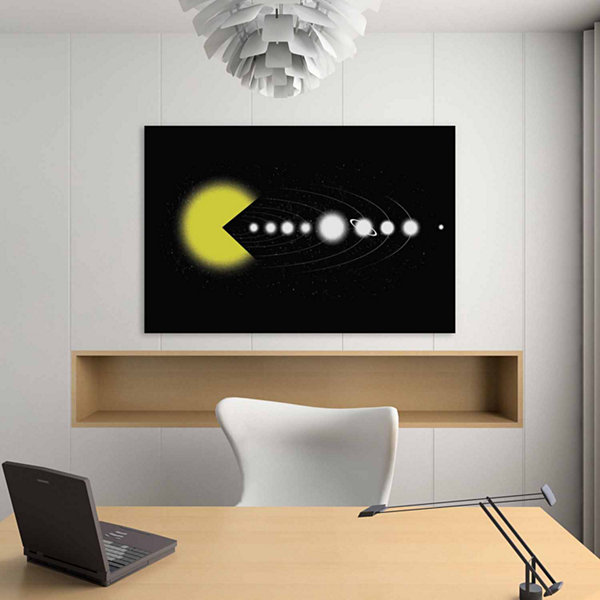 Icanvas Solar Expansion Canvas Art