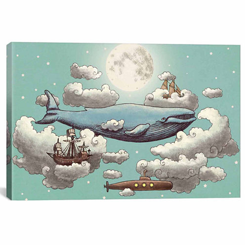 Icanvas Ocean Meets Sky #2 Canvas Art