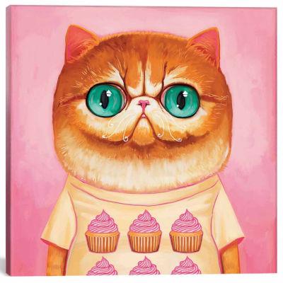 Icanvas Hey Cupcake Canvas Art