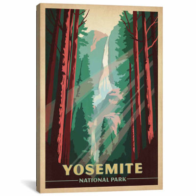 Icanvas Yosemite National Park (Yosemite Falls) Canvas Art