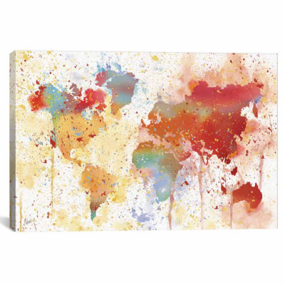 Icanvas Traveled The World Canvas Art