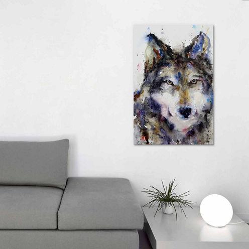 Icanvas Wolf Ii Canvas Art