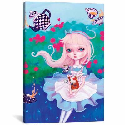 Icanvas Alice In Wonderland Canvas Art