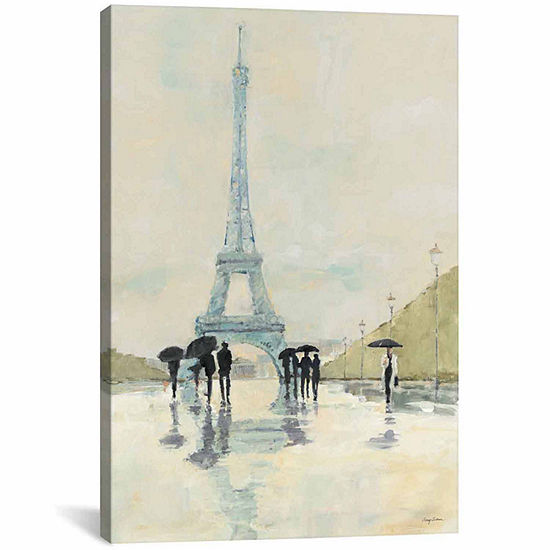 Icanvas April In Paris Canvas Art