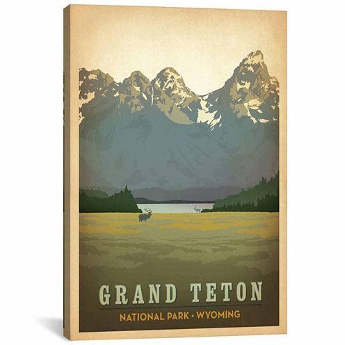 Icanvas Grand Teton National Park (Teton Range) Canvas Art
