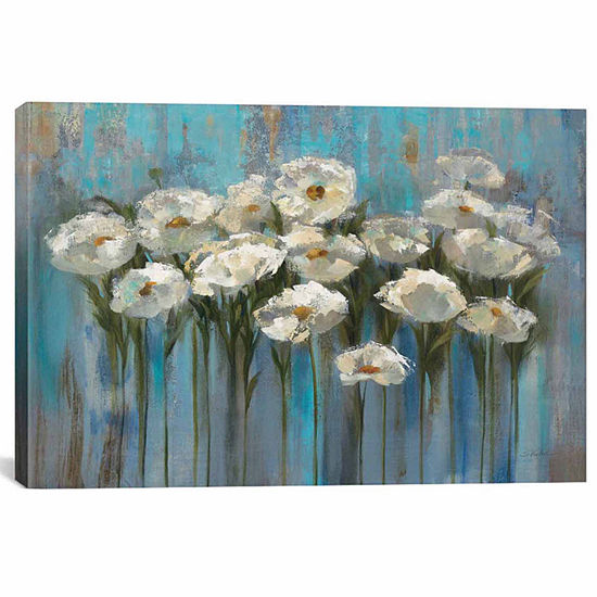 Icanvas Anemones By The Lake I Canvas Art