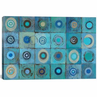 Icanvas Underwater Mosaic Canvas Art