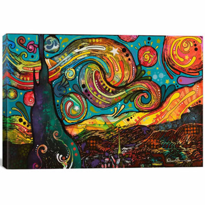 Icanvas Starry Night Canvas Art