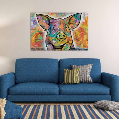 Icanvas The Pig Canvas Art