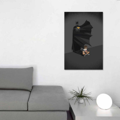 Icanvas Walking Shadow Hero Ii Canvas Art