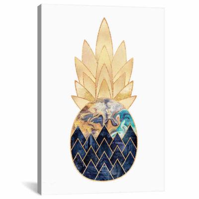 Icanvas Precious Pineapple I Canvas Art