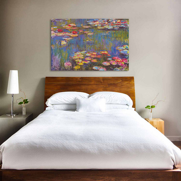 Icanvas Water Lilies; 1916 Canvas Art