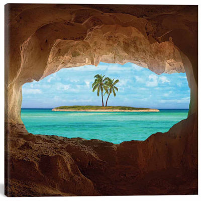 Icanvas Paradise Canvas Art
