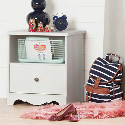 Caravell 1-Drawer Nightstand
