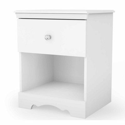 Crystal 1-Drawer Nightstand