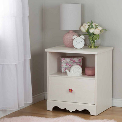 Lily Rose 1-Drawer Nightstand