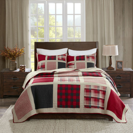 Woolrich Huntington Cotton 3-pc. Quilt Set