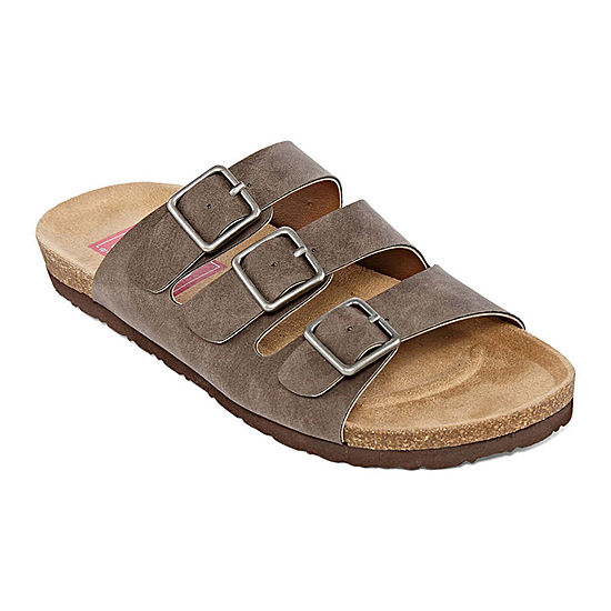 cb7b85adc6ad Pop Zuri Womens Adjustable Strap Footbed Sandals - JCPenney