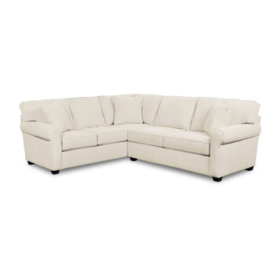 Fabric Possibilities Sharkfin 2-Pc Left Arm Sofa Sectional
