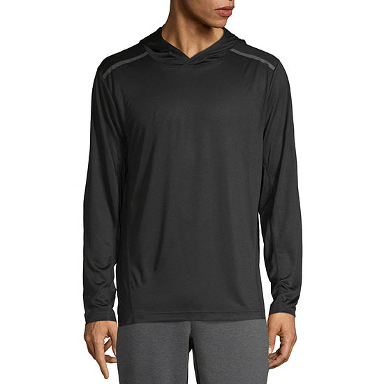 Msx By Michael Strahan Mens Long Sleeve Reflective Hoodie