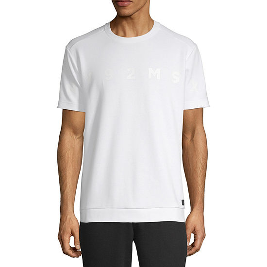 Msx By Michael Strahan Mens Crew Neck Short Sleeve T Shirt
