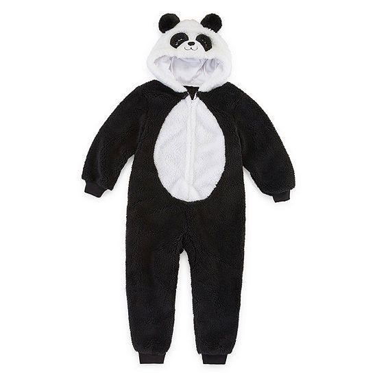 Mommy and Me Panda Critter One Piece Pajama - Girls