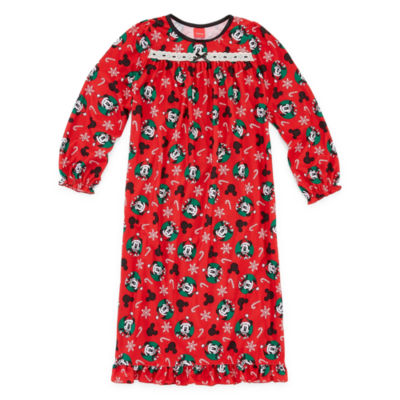 Disney Mickey Mouse Family Girls Nightgown - Preschool/Big Kid