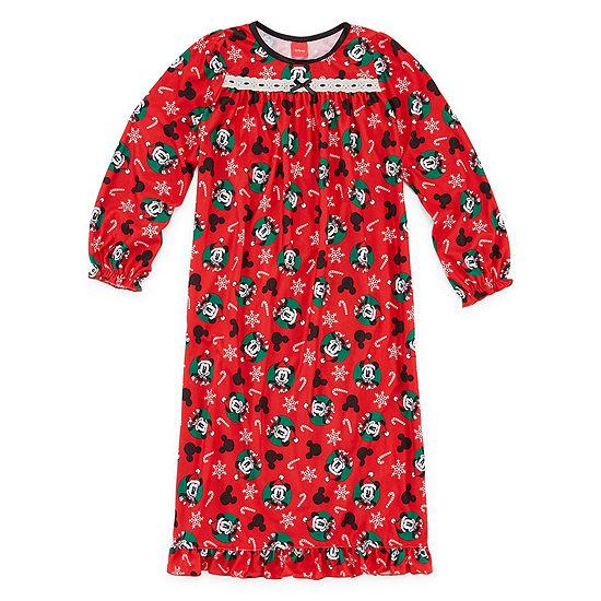 Disney Mickey Mouse Family Girls Nightgown - Preschool/Big Kid