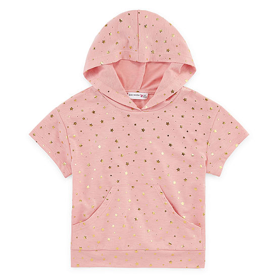 Knit Works Girls Hoodie Preschool Big Kid