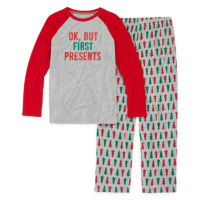 North Pole Trading Co. Christmas Wish Family Unisex 2-pc. Pant Pajama Set Preschool / Big Kid