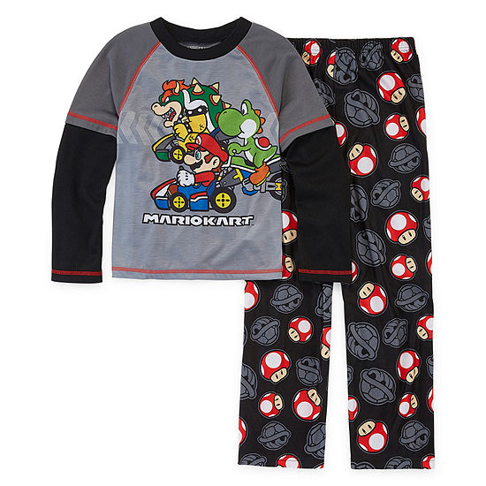Boys 2-pc. Super Mario Pant Pajama Set Preschool / Big Kid