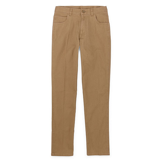 Izod Exclusive Boys Flat Front Pant