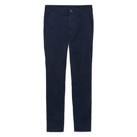 Izod Exclusive Boys Flat Front Pant