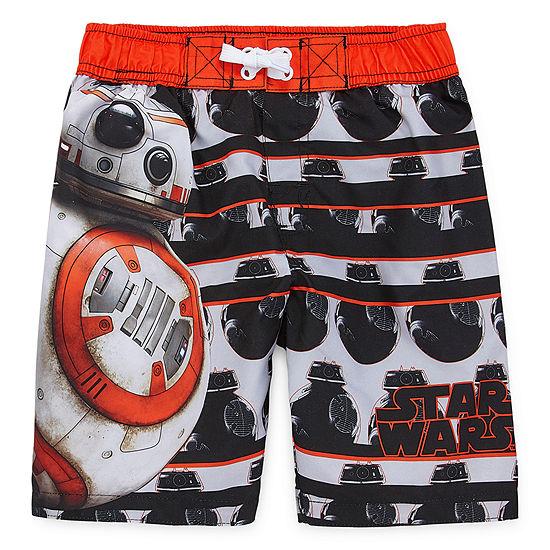 Boys Star Wars Swim Trunks Preschool Big Kid