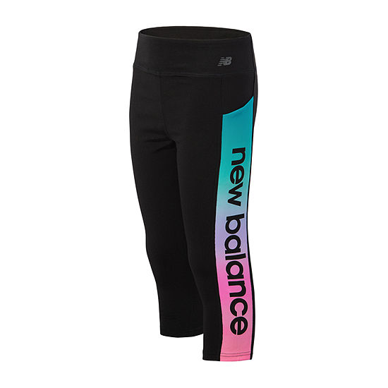 New Balance Unicorn Girls Capri Leggings Big Kid