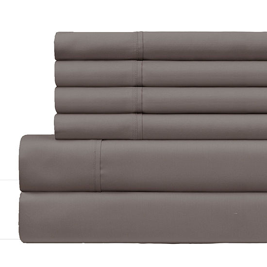 Back To Campus Cotton 6pc 500 Thread Count Sheet Sets with Polygiene