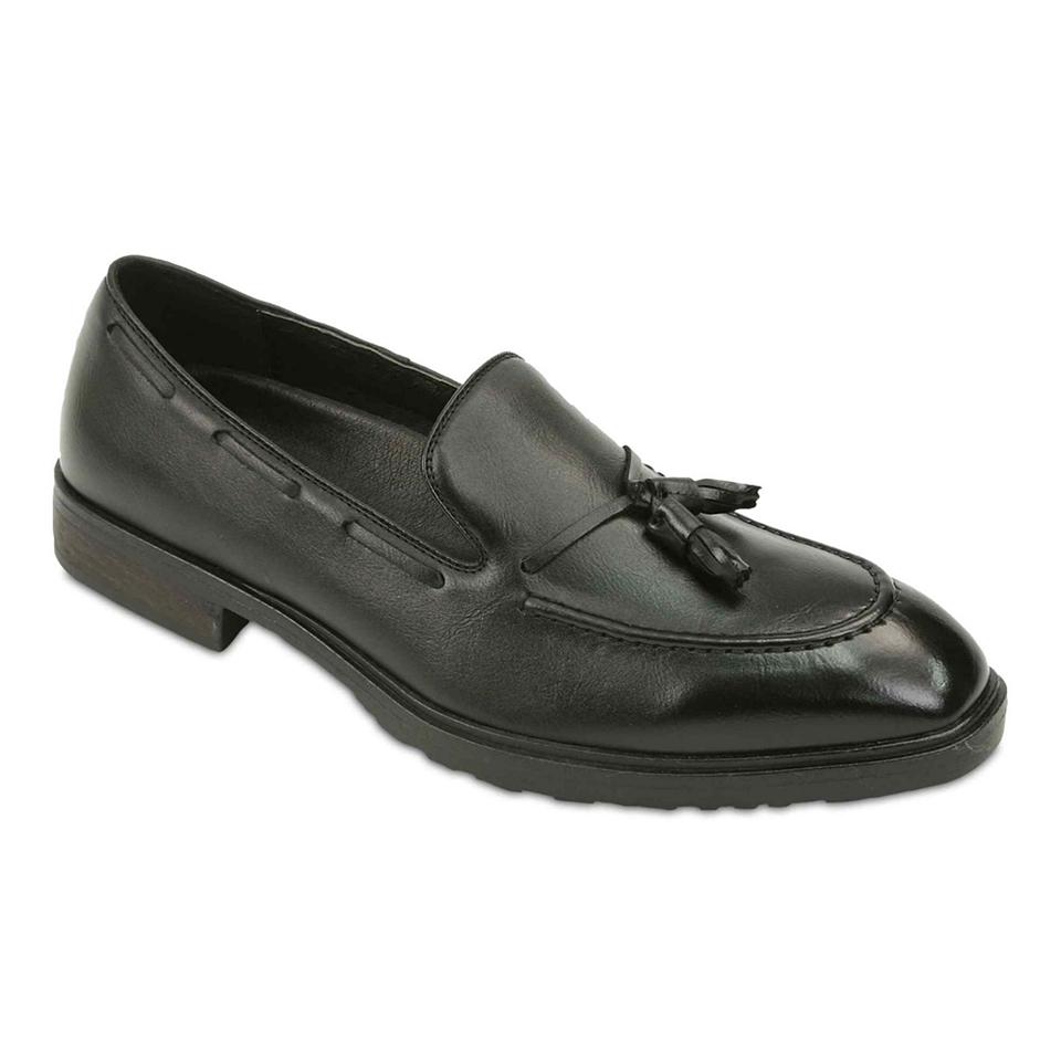 Deer Stags Futon Mens Loafers, Black