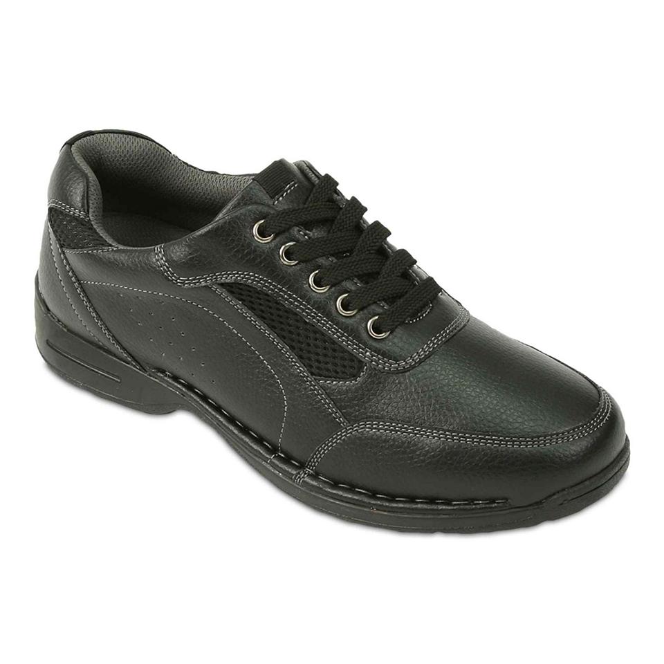 Deer Stags Verge Mens Casual Shoes, Black