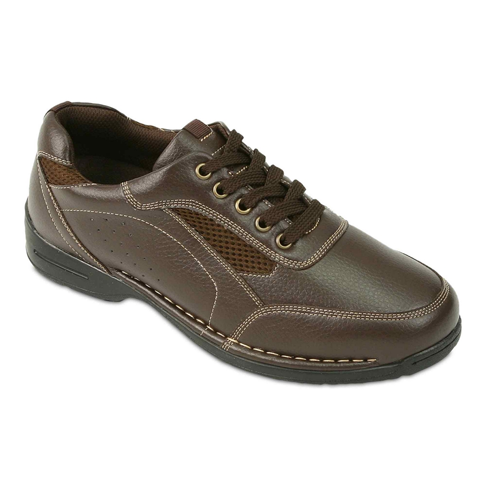 Deer Stags Verge Mens Casual Shoes, Brown