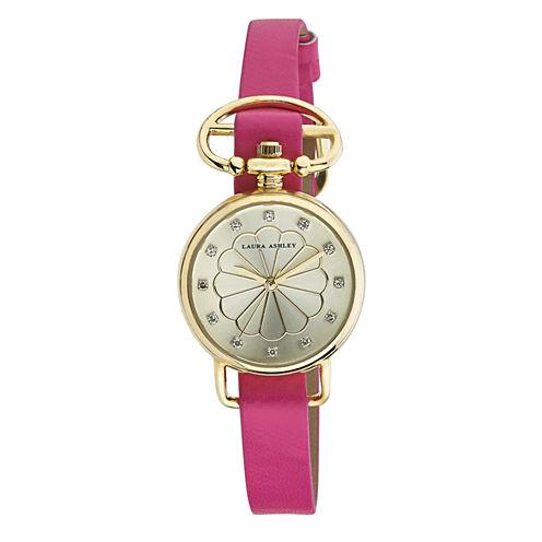 Laura Ashley Ladies Pink/Gold Heirloom Watch La31001Yg