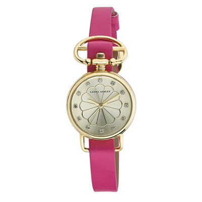 Laura Ashley Ladies Pink/Gold Heirloom Watch La31001Yg