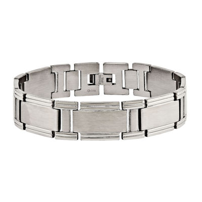 Mens Stainless Steel Link Bracelet